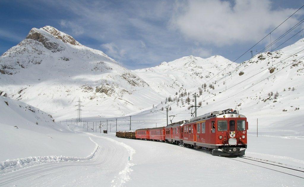 Il trenino rosso del Bernina nel patrimonio UNESCO della Lombardia